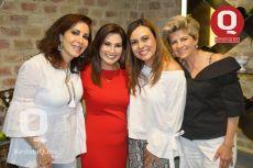 Bárbara Botello, María Esther Santos, Sandra Sandoval y Ana Isabel Álvarez del Castillo