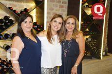 Elisa Videgaray, Sandra Sandoval y Gina Arias