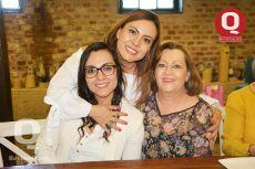 Sandra Sandoval, Alejandra Sandoval e Irma Maciel