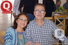 Celia Rosario Chiuriti de Moreno y Bernardo Moreno Coronado