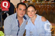 Manuel Orozco y Alma Ramírez