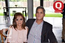 Yahaira González y Jesús Chico