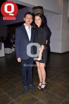 Emiliano Valadez y Alexia Arellano