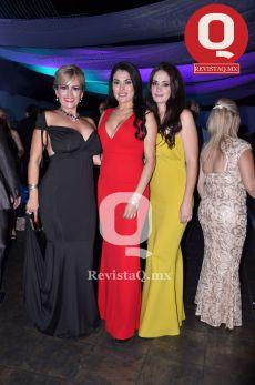 Fabiola Lira, María Soto y Marcela Alférez