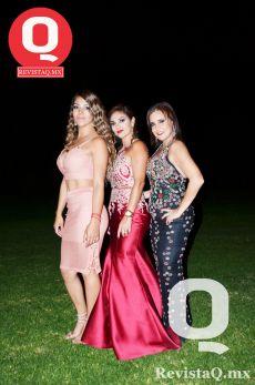 Gabriela Cervantes, Olga González y Marisol Poggio