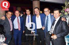 Rolando Preciado, Fernando Collazo, Sergio Razo, Salvador Pérez, Antonio Araujo y Eduardo Osorio
