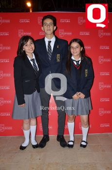 Cristina Roque, Juan Pablo Ramírez y Karina Navarro