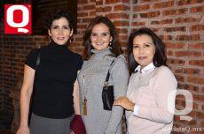 Dolores Padilla, Marosi Bennetts y María Eugenia Sánchez