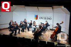 El concierto se llevó a cabo en el Teatro Aurora del Instituto Oviedo