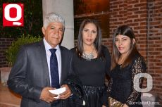 Francisco Tenorio, Lucy González y Monserrat Tenorio
