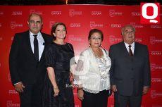 Ing. Martín Rubio, Rosario Alférez, Elsa Brito y Víctor Manuel Hernández