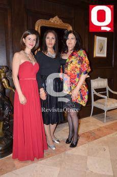 Paola Rebollo, Lucy González y Maribel Llamas