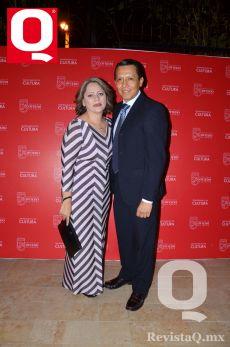 Xany Macías e Israel García