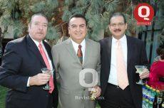 Alejandro Riquelme, Rubén Tamayo y Roberto Vallejo