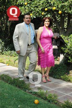 Héctor Herrera y Anita Carranza