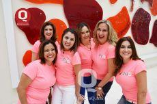 Amparo Gutiérrez, Liliana Velázquez, Rosy Valdez, Liz Campos, Liz Uli y Bety Arenas