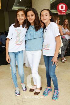 Dania Torres, Daniela Villanueva y Laura Argáez