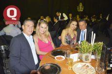 Alejandro Márquez, Lorena Orozco, Graciela Rojas y Gabriel Laborde