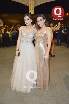 Aranza Torres y Andrea Perales