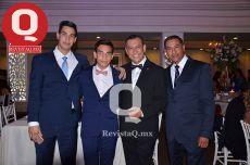 Gregorio Vargas, Fabián Vargas, Gregorio Vargas y Ernesto Vargas