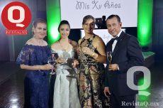 Luz Graciela Rodríguez, Ana Sofía Vargas, Eloíza González y Gregorio Vargas