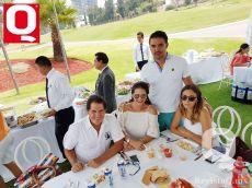 Gustavo Aranda, Mónica Ruiz Arellano, Gustavo Aranda Jr. y Andrea Castro