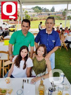 Sergio Villarreal, Checo Villarreal, Bárbara Villarreal y Maríapura de Villarreal