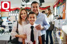 Luza Cisneros, Pablo Moreno y Patrizio Moreno