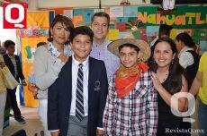 Martha Castañón, Jorge Peña, Jorge Peña Jr., Mario Escobar y Alicia Escobar