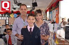Peter Poles, Rosy Muñoz y Adriano Poles