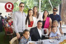 César Delgado, Andrea Rocha, Alexa Rocha, Mayra Rocha, Alex Rocha, Jorge López, Alejandro Rocha, Graciela Saldaña y César López