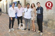 Emilio Vesper, Manuel Ibarra, Marcelo Reynoso, Camila Velázquez y Emiliano Márquez