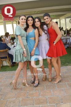Estefanía Uriarte Morfín, Paulina Cárdenas, María Villanueva García y Ángela Padilla Jurado