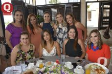 A  Grisel Hernández, Liliana Padilla, Nayeli Ramírez, Nadia Peña, Sofía Silva y Jessica Espinosa y Jessica Espinosa