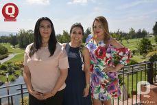Ana Estela Álvarez, Sara María Ríos y Karla Ríos