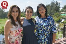 Ana Janett Warren, Sara María Ríos y Estela Hernández de Álvarez