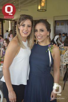 Araceli Orozco con Sara María Ríos