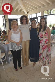 Güera Plascencia, Betty Muñoz, Sara María Ríos y Janett Warren