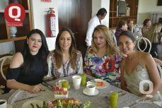 Jackie Lozano, Martha Collazo, Karla Ríos y Mariana Hernández