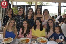 Leticia Hernández, Elizabeth Hernández, María Chavero, Pau Pons, Giovanna Aguirre y Karla Artola