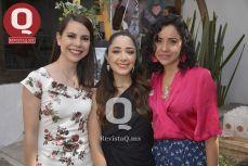 Jessica Padilla, Bibiana Aguirre y Liliana Aguirre