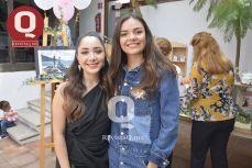 Bibiana Aguirre y Lorena Mendoza