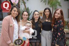 Cinthya Hernández, Iliana Aguilar, Bibiana Aguirre, Pamela Montes de Oca y Angely Calderón