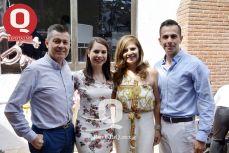 Jaime Alejandro Padilla, Jessica Padlla, Laura González y Emmanuel Padilla
