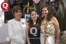 Lupita Torres, Bibiana Aguirre y Laura González