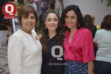 Lupita Torres, Bibiana Aguirre y Liliana Aguirre