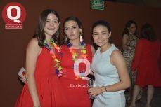 Ale Vázquez, Fernanda Cordero y Nancy Ramos