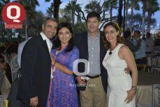 Alessandro Maisto, Erika Aviña, Ramón Wiechers y Ana Ruiz