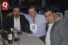 Francisco López, Mario Stecklein y Mario Galindo