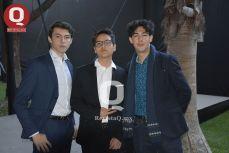 Gustavo Muñoz, Daniel Sánchez y Mariano Umaña